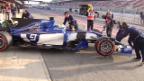 Video «Die Sauber-Fahrer im Testmodus» abspielen