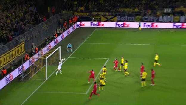 Video «Die Live-Highlights beim Europa-League-Knüller Dortmund - Liverpool» abspielen