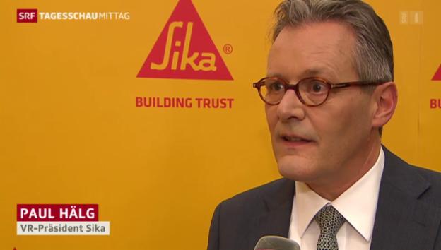 Video «Sika-Verwaltungsrat macht einen Vorschlag» abspielen