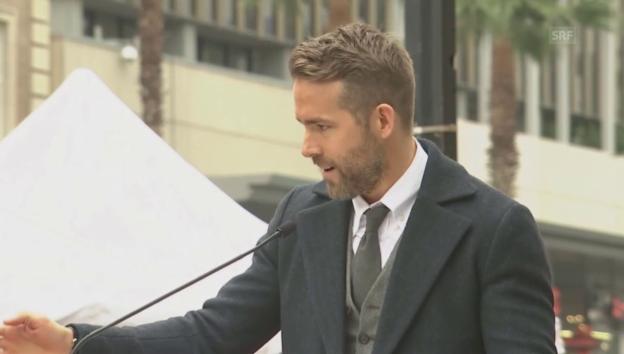 Video «Ryan Reynolds Liebeserklärung an Blake Lively» abspielen
