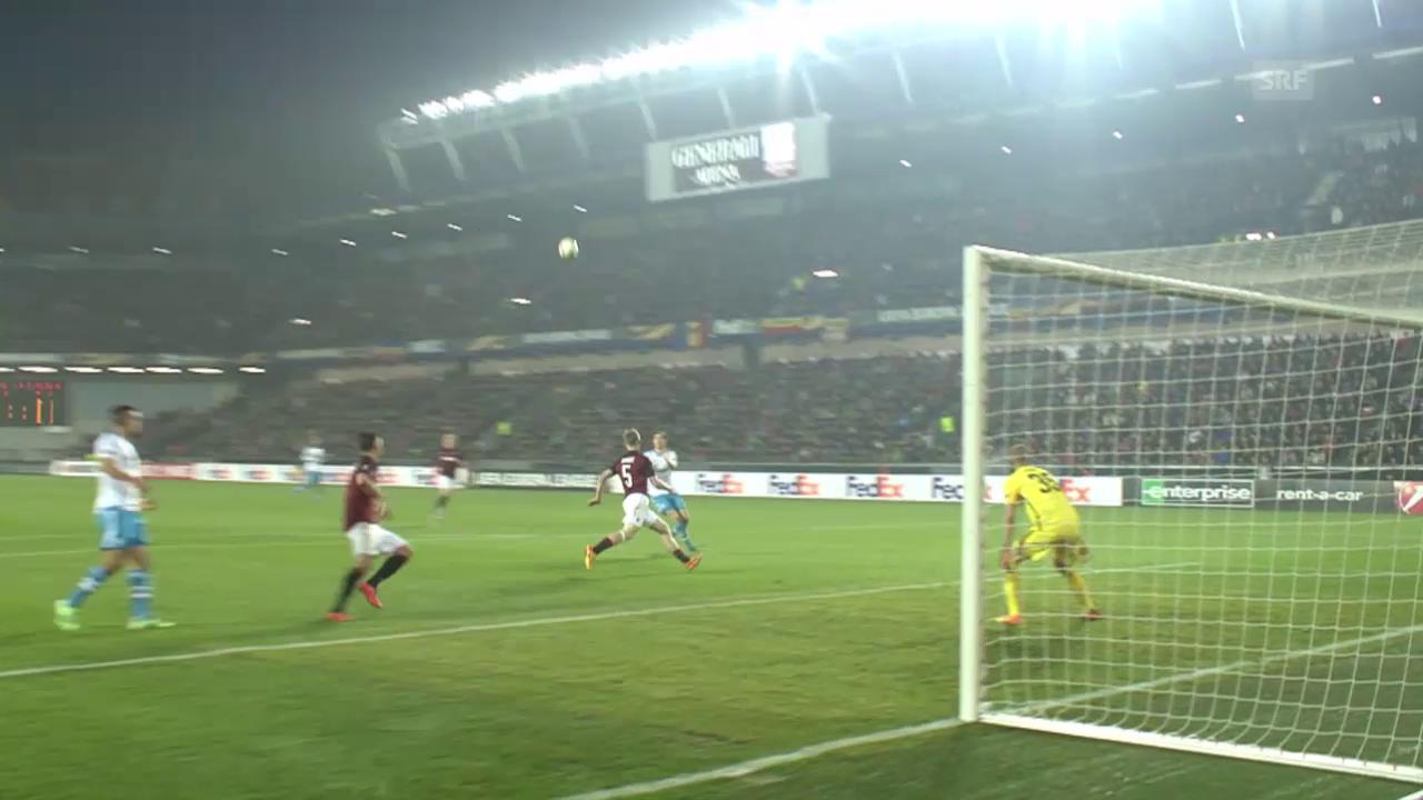 Fussball: Europa League, Sparta Prag - Schalke