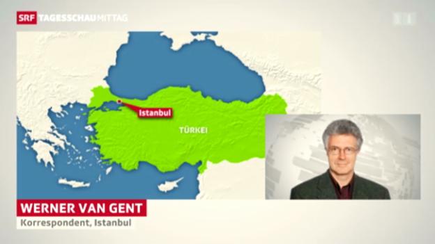 Video ««Es herrscht die Ruhe vor dem Sturm», sagt Korrespondent Werner van Gent» abspielen