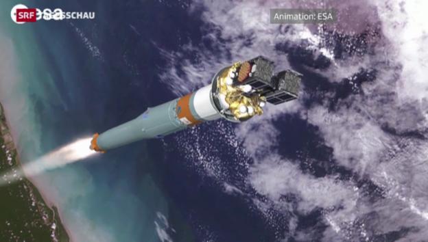 Video «Galileo-Satelliten auf falscher Umlaufbahn» abspielen