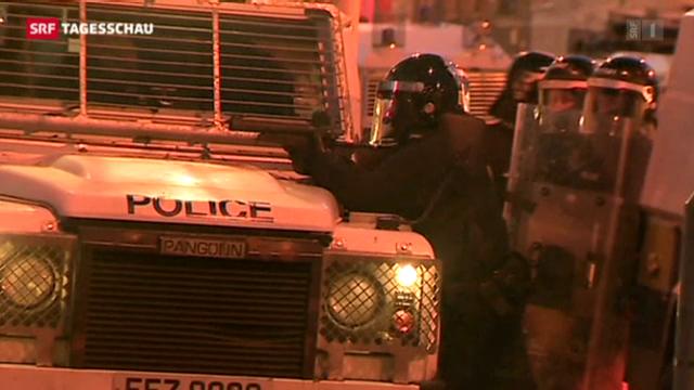 Strassenschlachten in Belfast