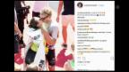 Video «Jean Reno wird 70 / Sarah Meier hat Grund zur Freude» abspielen