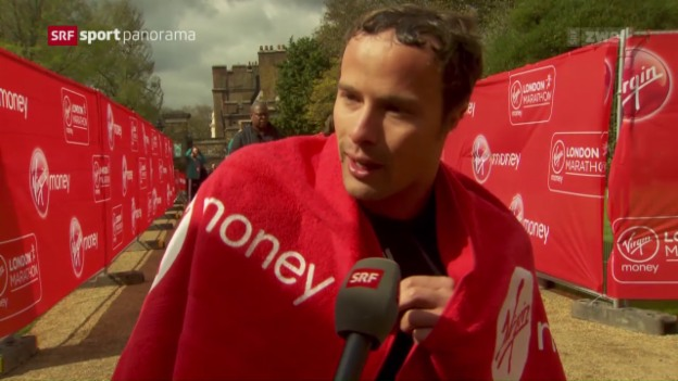 Video «Hug triumphiert am London Marathon» abspielen