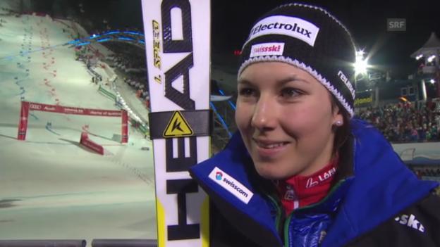 Video «Ski-WM: Teamevent, Interview Wendy Holdener» abspielen