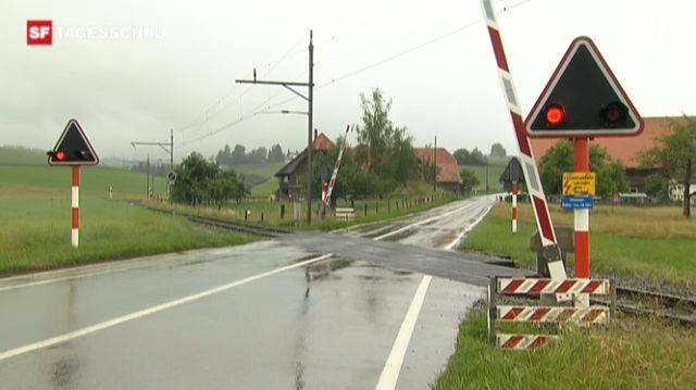 Lösung für gefährliche Bahnübergänge