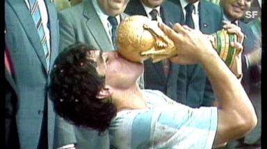 Video «1986: Argentinien - Deutschland» abspielen