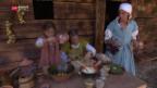 Video «Beschwerliches Leben für Pilger und Bauern» abspielen
