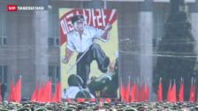 Video «Nordkorea im Kriegszustand mit Südkorea» abspielen