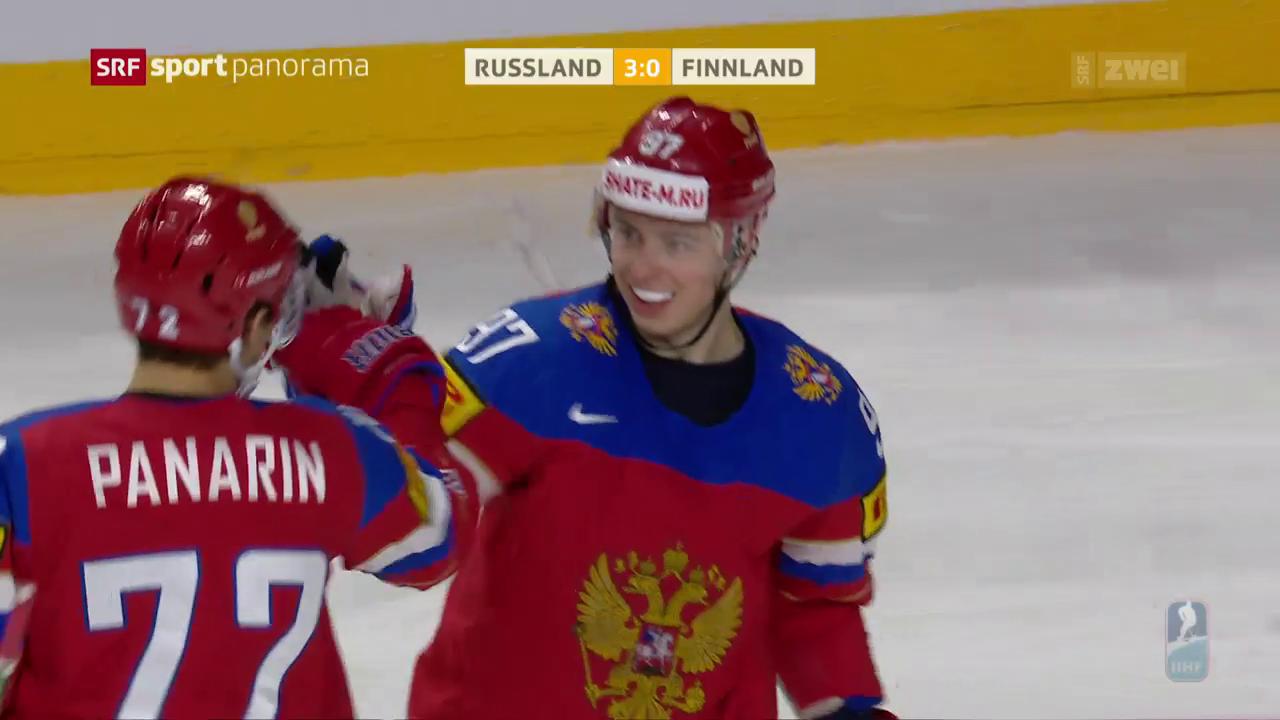 Russland holt sich WM-Bronze