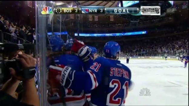 Video «Boston Bruins - New York Rangers: Die Tore» abspielen