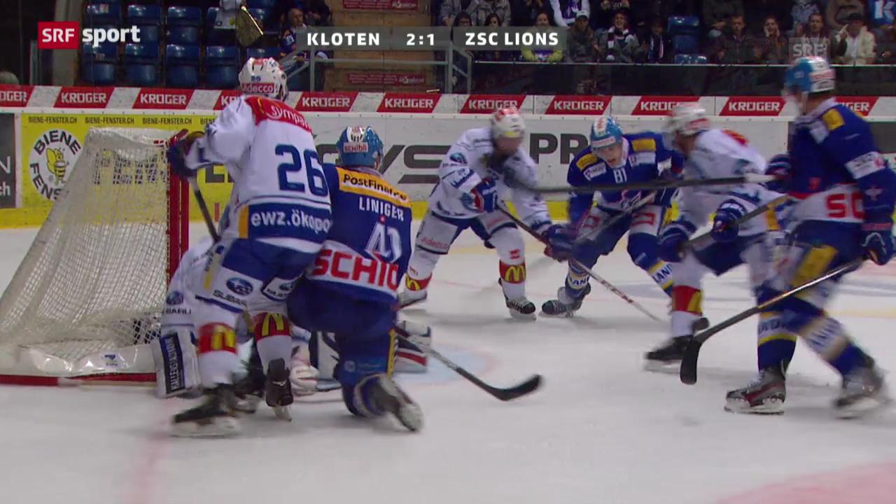 29.09.2013: Kloten-ZSC Lions 4:3 n.P.