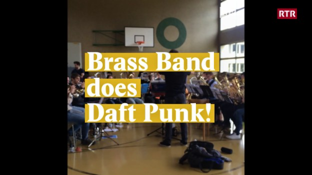 Laschar ir video «Brass Band does Daft Punk!»