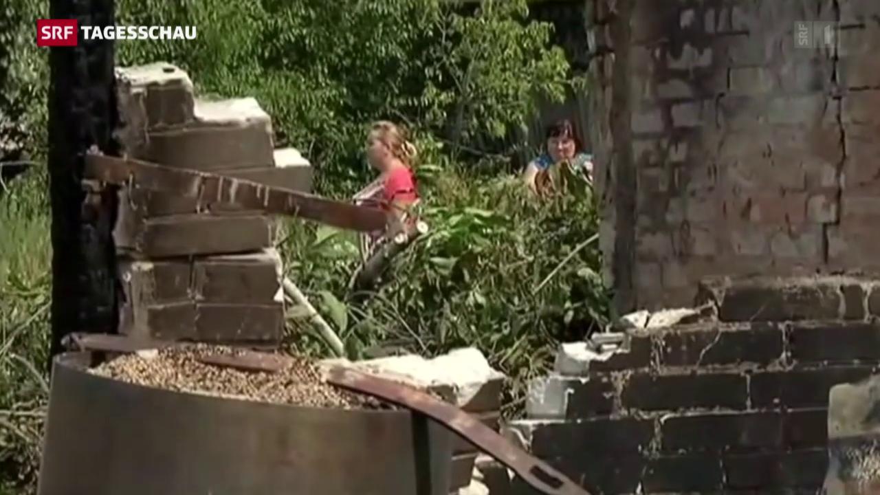 Situation für Zivilisten im Donbass aber weiterhin höchst prekär
