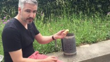 Video «Trick 77: Kohlen von oben nach unten anzünden» abspielen