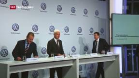 Video «VW streicht 30'000 Stellen» abspielen