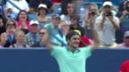 Video «Tennis: Final Cincinnati, Federer - Ferrer: Die Highlights» abspielen