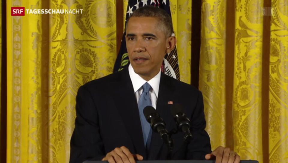 Obama gesteht Niederlage ein