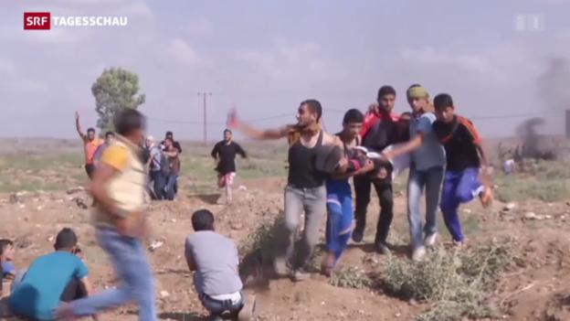 Video «Neue Gewalt in Israel und Palästinensergebieten» abspielen