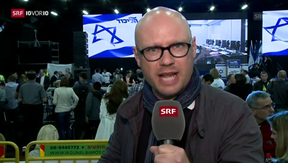 Israel-Wahl: Einschätzung von Pascal Weber (10vor10)
