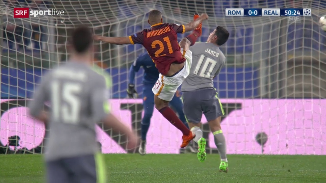 AS Roma - Real: Die Live-Highlights