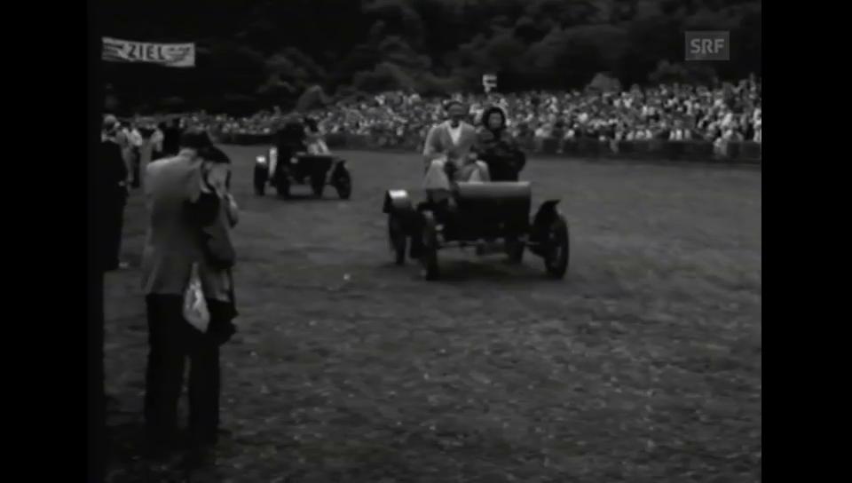 1950: Oldtimer-Automobilrennen