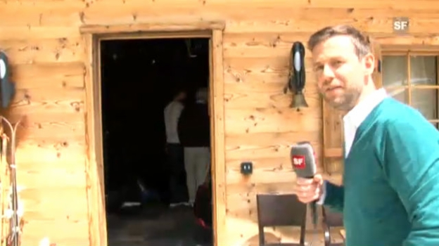 Video «Making-Of Teil 1: die «Gipfelstürmer»-Hütte» abspielen