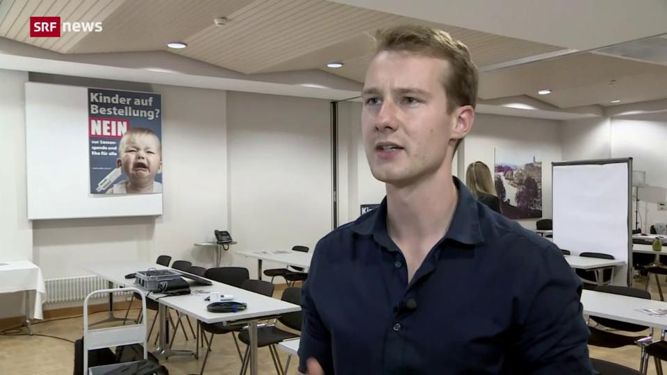 Timmy Frischknecht (Junge EDU) bewertet das Ja zur «Ehe für alle» kritisch.