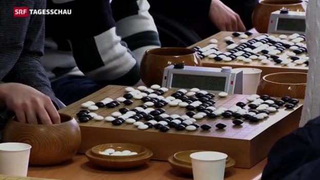 Video «Google gewinnt beim Go-Spiel» abspielen
