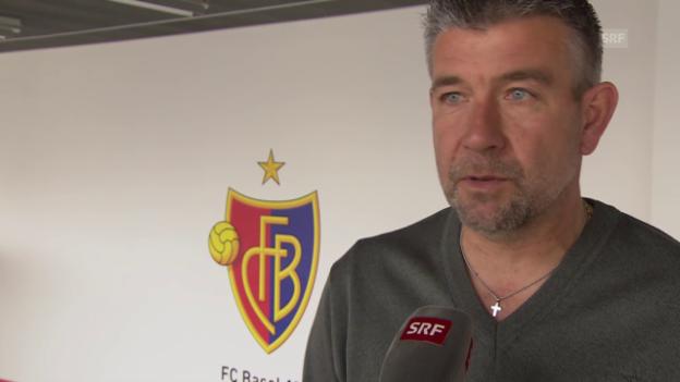 Video «Urs Fischers erste Gedanken zu EL-Gegner FC Sevilla» abspielen