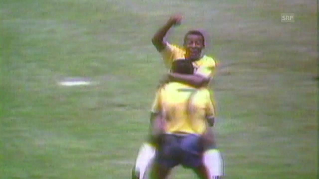 Die 4 WM-Teilnahmen von Pele (1958, 1962, 1966, 1970)