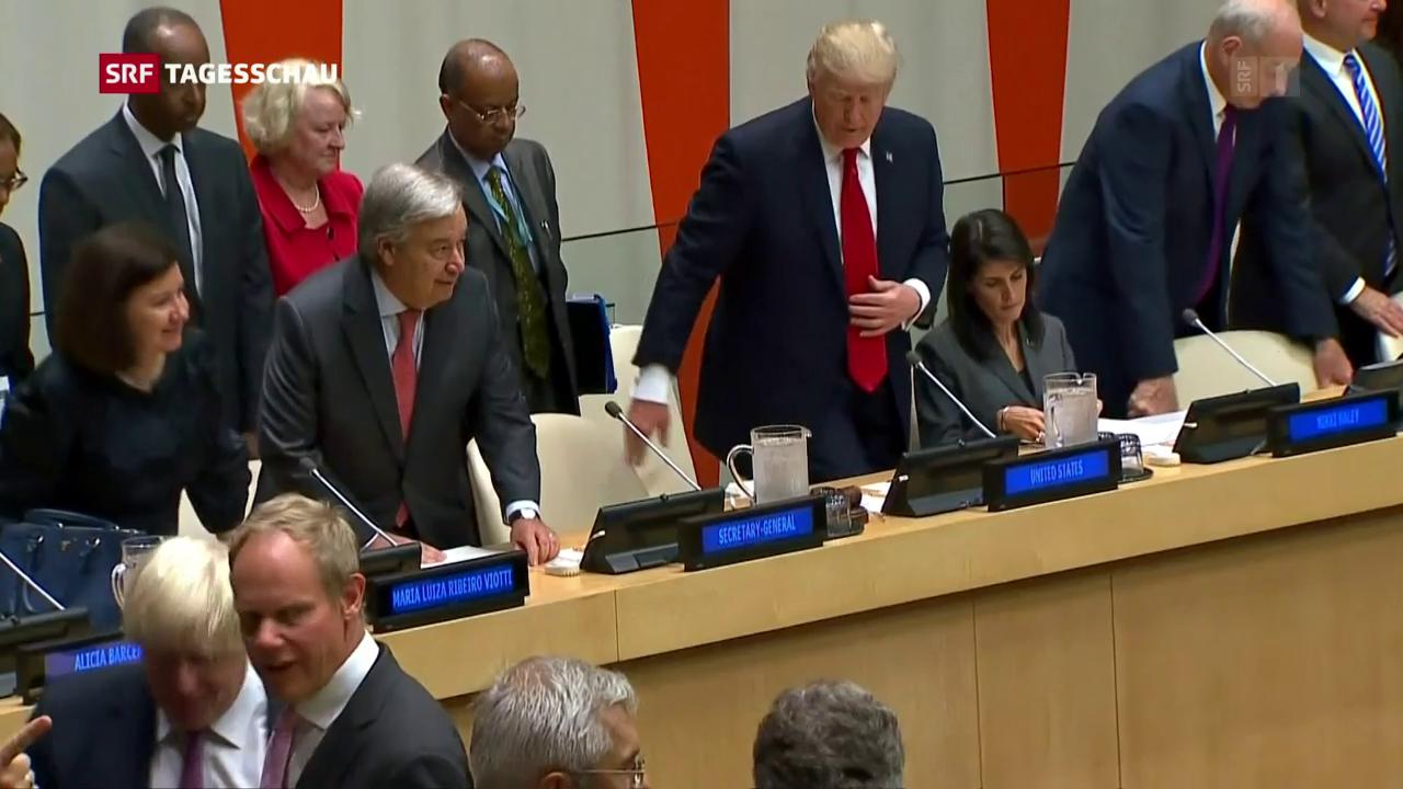 Trump pocht auf Reformen bei der UNO