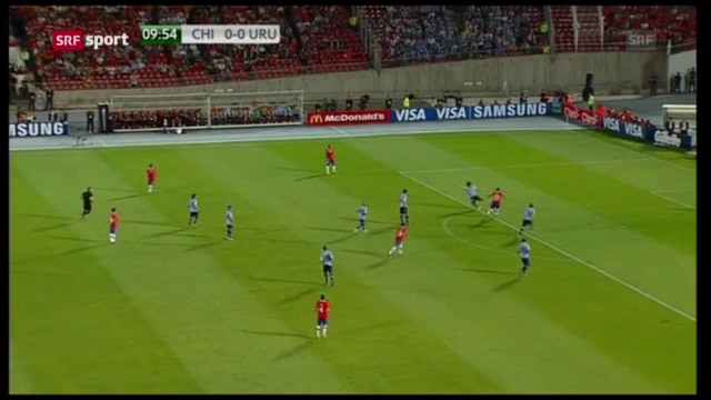 WM-Quali Chile-Uruguay («sportaktuell» vom 27.03.13)