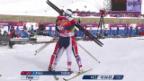 Video «Langlauf: Teamsprint Frauen, Final (19.02.2014)» abspielen