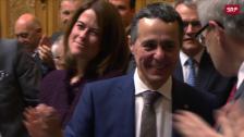 Link öffnet eine Lightbox. Video Der neue Bundesrat heisst Ignazio Cassis abspielen