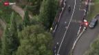 Video «Rad: Strassenrennen der Männer an der WM in Florenz» abspielen