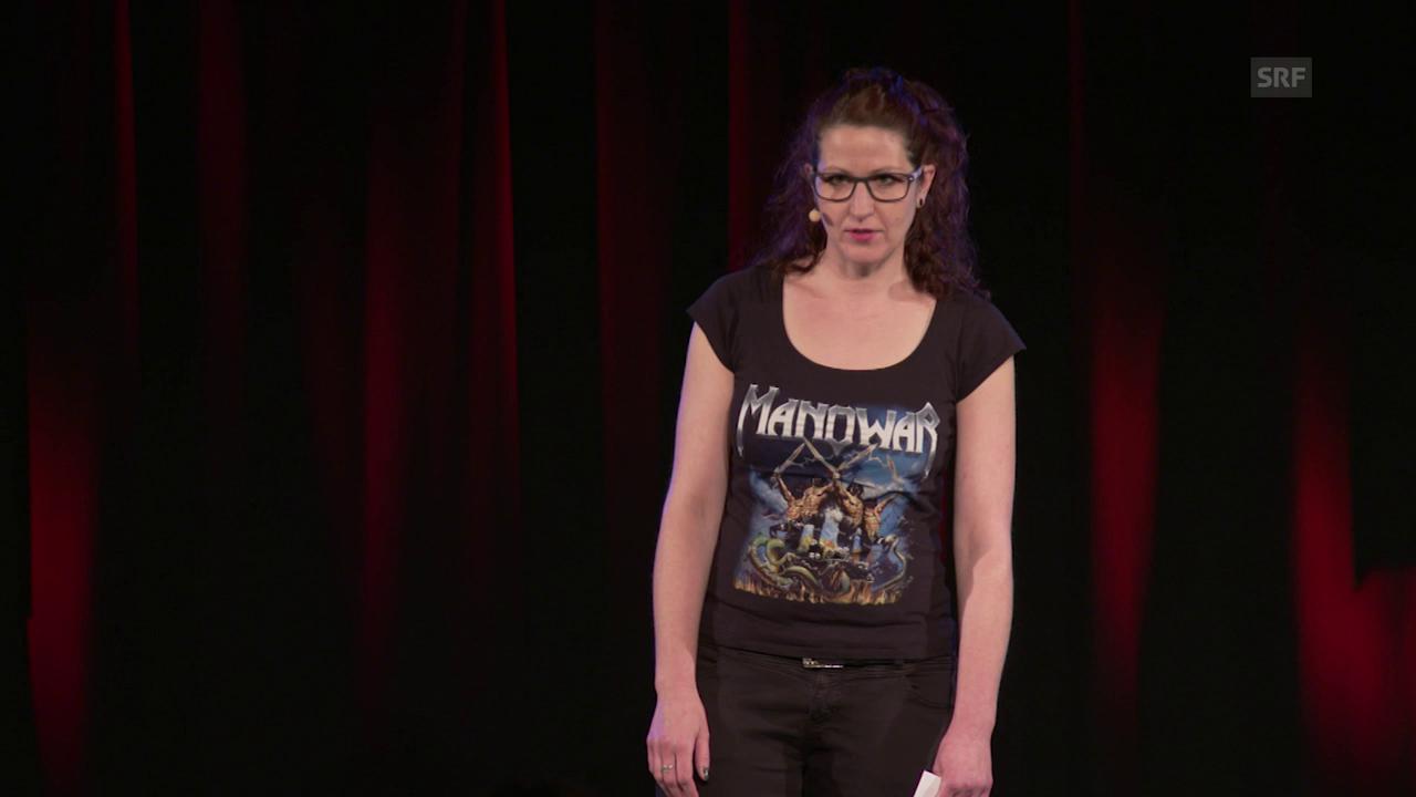 Melanie Baumann über Erschöpfungsdepressionen