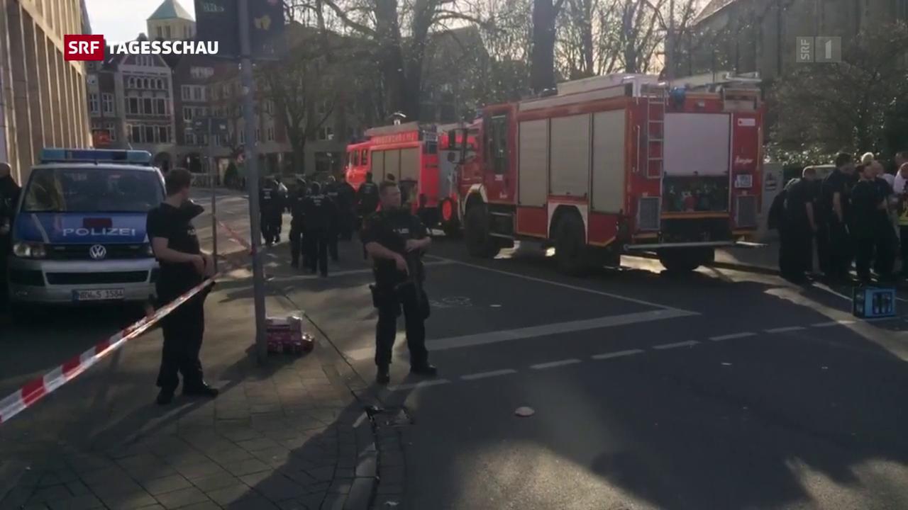 Tote und Verletzte in Münster (D)