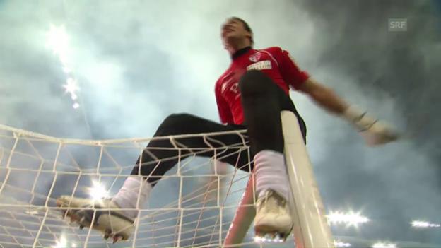 Video «Ex-Sion Keeper El-Hadary hext auch mit 44 Jahren noch» abspielen