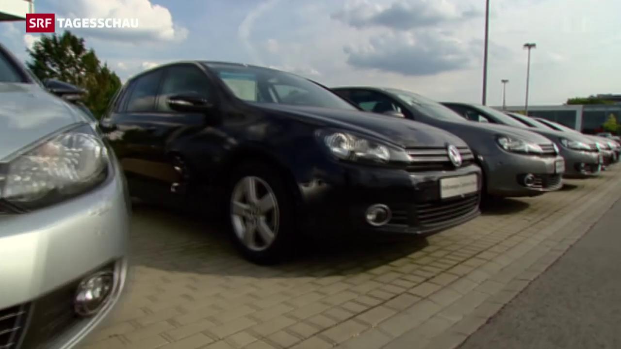 Schweizer Zulassungsverbot für Diesel-VW