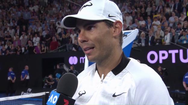 Video «Nadal: «Es sind jetzt schon phantastische Wochen»» abspielen