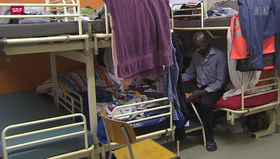 Platz suchen für Asylbewerber