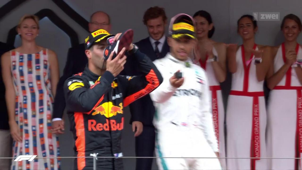Ricciardo gewinnt im Fürstentum