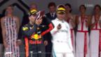 Video «Ricciardo gewinnt im Fürstentum» abspielen