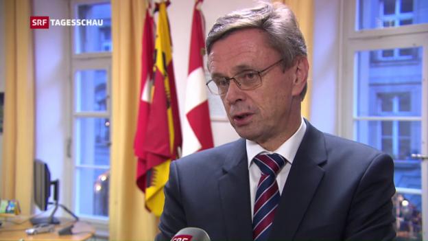 Video «Erhöhte Aufmerksamkeit in der Schweiz» abspielen