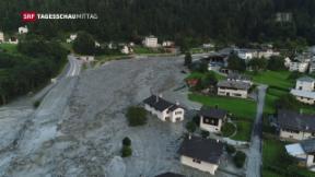 Video «Acht Vermisste nach Felssturz in Bondo» abspielen