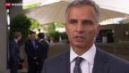 Video «Burkhalter appelliert an Konfliktparteien» abspielen