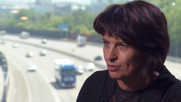 Video «Bundesrätin Doris Leuthard im Interview» abspielen